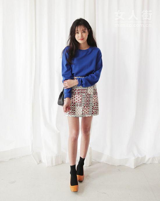 矮个女生穿衣搭配,最新时尚韩版女装穿搭秀