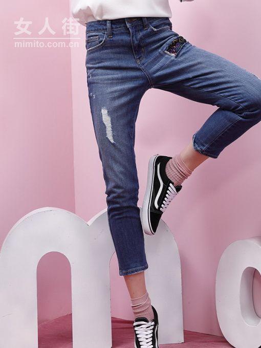 百搭又显瘦,你需要这样的牛仔裤!