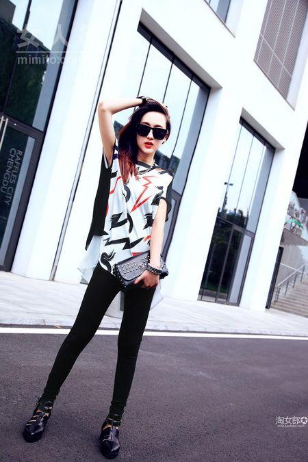 夏日时尚搭配示范 时髦街搭30款